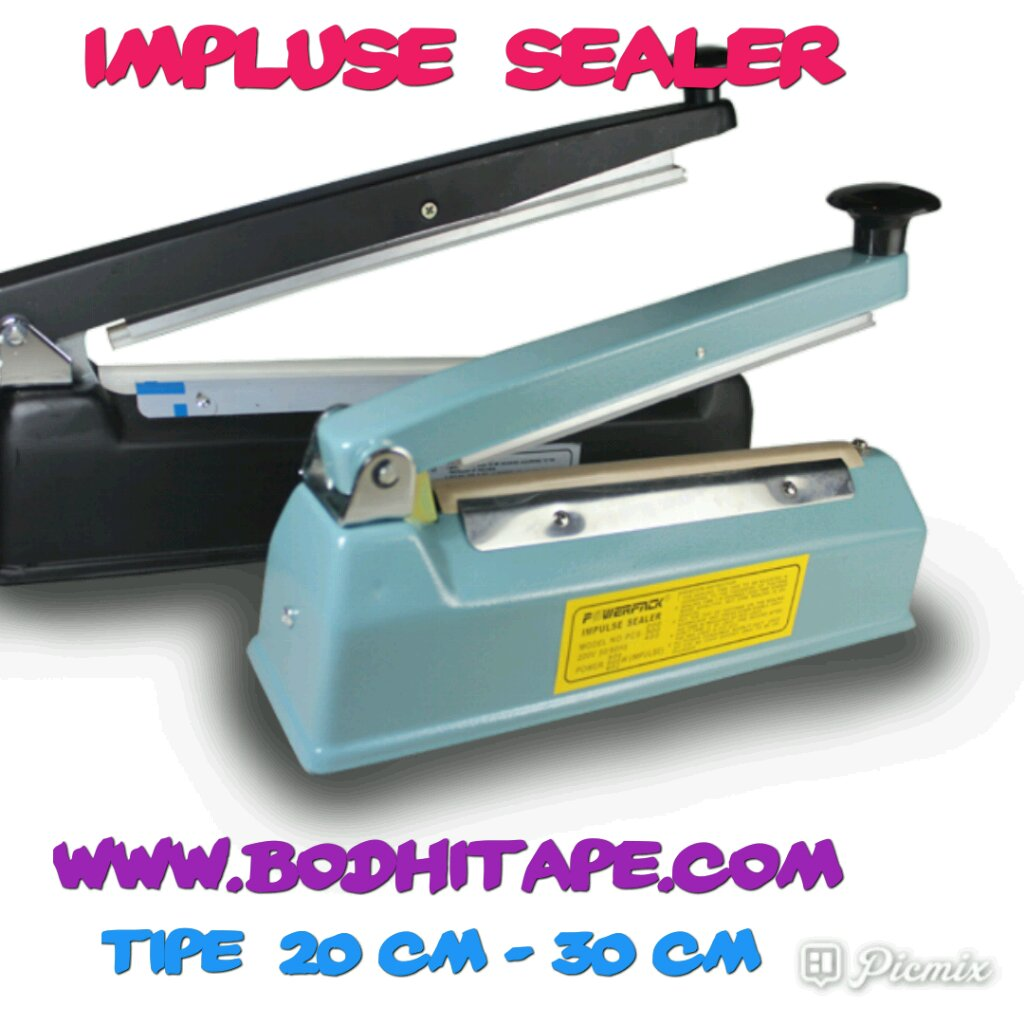 Impulse Sealer/mesin press